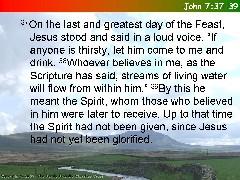 12 - John 7.37-39