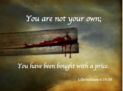 You are bought        God    s Grace      God    s Glory